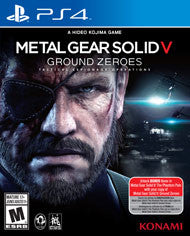 Metal Gear Solid V Ground Zeroes    PLAYSTATION 4