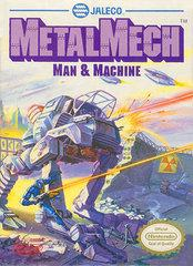 Metal Mech DMG LABEL    NINTENDO ENTERTAINMENT SYSTEM