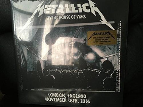 Metallica - Live at House of Vans London 11-18-16