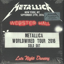 Metallica - Live at Webster Hall NY 9-27-16