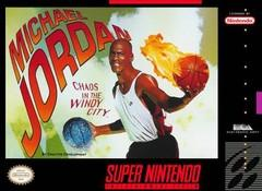 Michael Jordan Chaos in the Windy City    SUPER NINTENDO ENTERTAINMENT SYSTEM