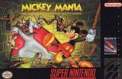 Mickey Mania    SUPER NINTENDO ENTERTAINMENT SYSTEM
