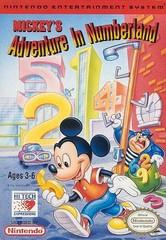 Mickeys Adventures in Numberland DMG LABEL    NINTENDO ENTERTAINMENT SYSTEM
