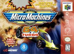 Micro Machines 64 Turbo BOXED COMPLETE    NINTENDO 64