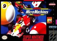 Micro Machines BOXED COMPLETE    SUPER NINTENDO ENTERTAINMENT SYSTEM