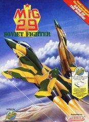 Mig 29 Soviet Fighter DMG LABEL    NINTENDO ENTERTAINMENT SYSTEM