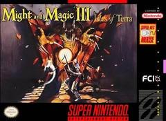 Might and Magic III Isles of Terra    SUPER NINTENDO ENTERTAINMENT SYSTEM