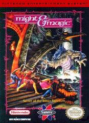 Might and Magic Book One The Secret of the Inner Sanctum BOXED COMPLETE    NINTENDO ENTERTAINMENT SYSTEM