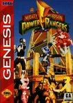 Mighty Morphin Power Rangers DMG LABEL    SEGA GENESIS