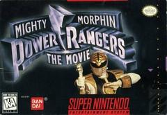 Mighty Morphin Power Rangers The Movie    SUPER NINTENDO ENTERTAINMENT SYSTEM