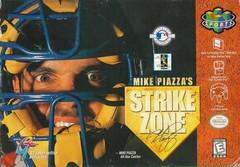 Mike Piazzas Strike Zone DMG LABEL    NINTENDO 64