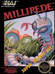 Millipede DMG LABEL    NINTENDO ENTERTAINMENT SYSTEM