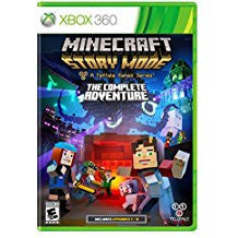 Minecraft Story Mode The Complete Adventure    XBOX 360