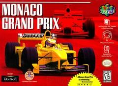 Monaco Grand Prix DMG LABEL    NINTENDO 64