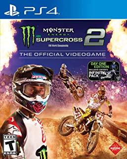 Monster Energy Supercross Official Videogame 2    PLAYSTATION 4