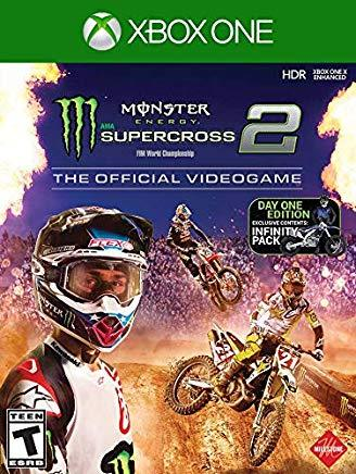 Monster Energy Supercross Official Videogame 2    XBOX ONE