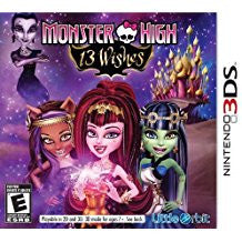 Monster High 13 Wishes    NINTENDO 3DS