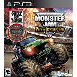 Monster Jam Path of Destruction Bundle    PLAYSTATION 3