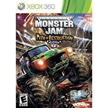 Monster Jam Path of Destruction    XBOX 360