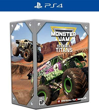 Monster Jam Steel Titans Collectors Edition    PLAYSTATION 4