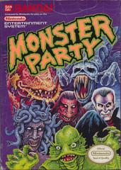 Monster Party     NINTENDO ENTERTAINMENT SYSTEM