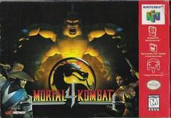 Mortal Kombat 4  DMG LABEL    NINTENDO 64