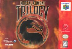 Mortal Kombat Trilogy DMG LABEL    NINTENDO 64