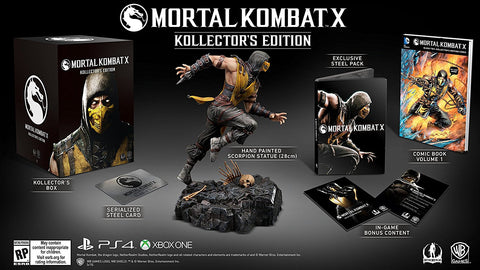 Mortal Kombat X Kollectors Edition    XBOX ONE