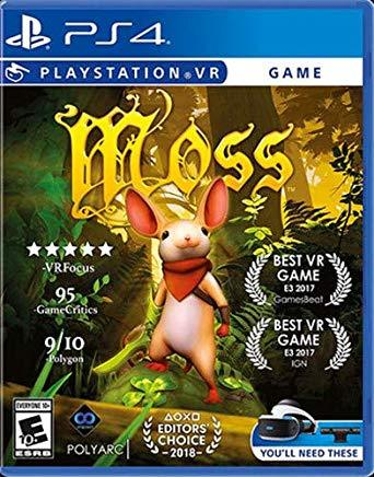 Moss    PLAYSTATION 4 VR