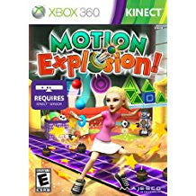 Motion Explosion DISC ONLY    XBOX 360