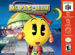 Ms Pac Man Maze Madness BOXED COMPLETE    NINTENDO 64
