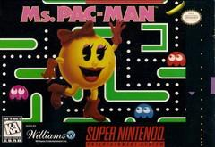 Ms Pac Man BOXED COMPLETE    SUPER NINTENDO ENTERTAINMENT SYSTEM