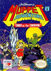 Muppet Adventure Chaos at the Carnival     NINTENDO ENTERTAINMENT SYSTEM