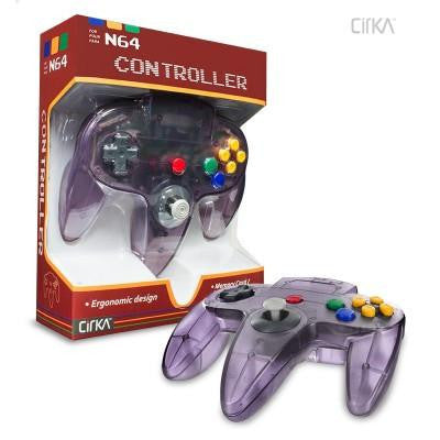 N64 Controller (Atomic Purple) (CirKa)    RETRO NEW CONTROLLER