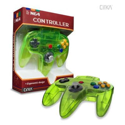 N64 Controller (Cyanine Jungle) (CirKa)    RETRO NEW CONTROLLER