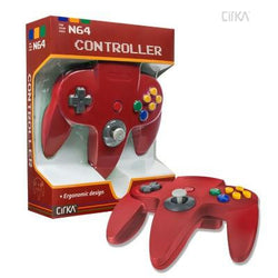 N64 Controller (Red) (CirKa)    RETRO NEW CONTROLLER