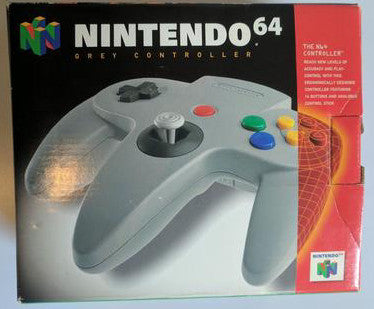 N64 Official Controller BOXED    NINTENDO 64 PRE-PLAYED CONTROLLER