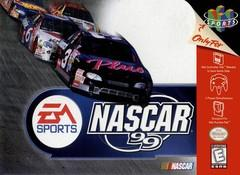 NASCAR 99 DMG LABEL    NINTENDO 64