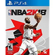 NBA 2K18    PLAYSTATION 4