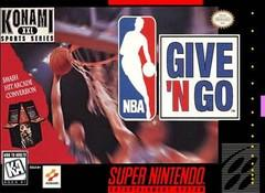 NBA Give N Go BOXED COMPLETE    SUPER NINTENDO ENTERTAINMENT SYSTEM