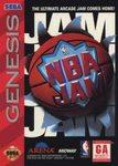 NBA Jam DMG LABEL    SEGA GENESIS