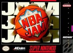 NBA Jam DMG LABEL    SUPER NINTENDO ENTERTAINMENT SYSTEM