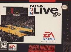 NBA Live 96 BOXED COMPLETE    SUPER NINTENDO ENTERTAINMENT SYSTEM