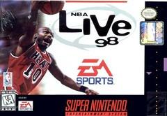 NBA Live 98 BOXED COMPLETE    SUPER NINTENDO ENTERTAINMENT SYSTEM