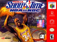 NBA Showtime NBA on NBC DMG LABEL    NINTENDO 64
