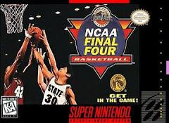 NCAA Final Four Basketball DMG LABEL    SUPER NINTENDO ENTERTAINMENT SYSTEM