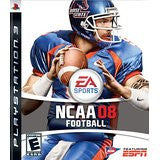 NCAA Football 08    PLAYSTATION 3