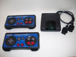 NES Acclaim Double Player System    NES PRE-PLAYED CONTROLLER