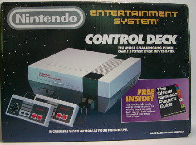 NES Control Deck BOXED COMPLETE    NES PRE-PLAYED HARDWARE