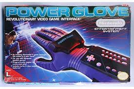 NES Power Glove DAMAGED BOX    NES PRE-PLAYED ACCESSORY